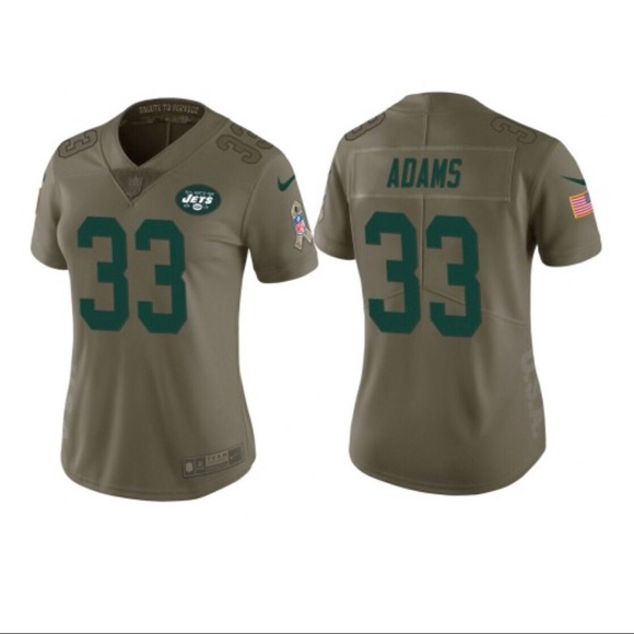 the latest 3c07b ab21c Nike NFL Jersey NY Jets Limited Salute to Service NWT